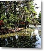 Magnolia Plantation Gardens Metal Print