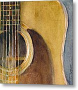 Martin Guitar D-28  Metal Print