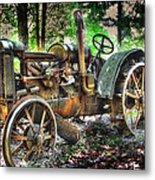 Mccormick Deering Tractor Metal Print