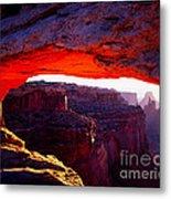 Mesa Arch Sunrise 2 Metal Print