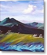 Mourne Mountains 1 Metal Print