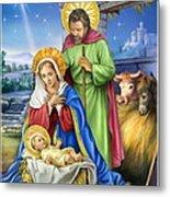 Nativity Of Jesus Metal Print