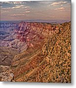Navajo Viewpoint In Grand Canyon National Park Metal Print