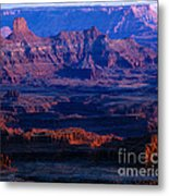 Needles Overlook  Metal Print