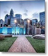 New Romare-bearden Park In Uptown Charlotte North Carolina Earl Metal Print