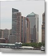 New York - New York Metal Print