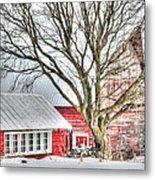 Oak Valley Farm Metal Print