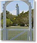 Ocracoke Island Lighthouse Metal Print