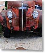 Old Old Car Metal Print