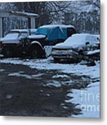 Old Rust Metal Print