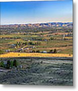 Panoramic Emmett Valley Metal Print