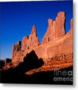 Park Avenue's Courthouse Towers Metal Print