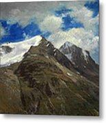 Peaks In The Rockies Metal Print