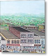 Portsmouth Ohio 1948 Dime Store Row 3rd To 4th Metal Print