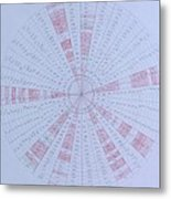 Prime Number Pattern P Mod 30 Metal Print by Jason Padgett