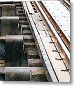 Railway To Somewhere Metal Print