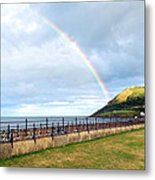 Rainbow Over Bray Head Metal Print