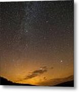 Road To The Milky Way Metal Print