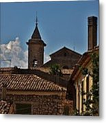 Rooftop Of The City Metal Print