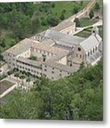 Senanque Abbey View Metal Print