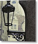September In Prague Metal Print