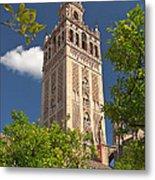 Seville Cathedral Belltower Metal Print by Viacheslav Savitskiy