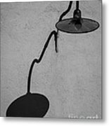 Shadow Of  Area Lighting Metal Print