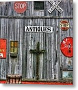 Signs Of Time Metal Print