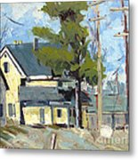 Sold Wabash Indiana Home Metal Print by Charlie Spear