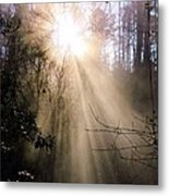 Sunrise Of Faith Metal Print
