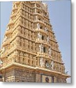 Sri Chamundeswari Temple Metal Print