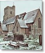 St Mary And All Saints Boxley Metal Print