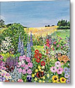 Summer From The Four Seasons Metal Print