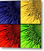 Sunflower Medley Metal Print