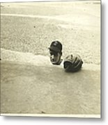 Ted Williams Metal Print by Diane Diederich
