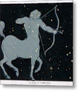 The Constellation Of  Sagittarius Metal Print