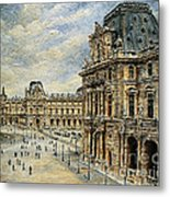 The Louvre Museum Metal Print