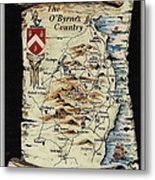 The O Byrnes Country Metal Print