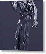 The Sculpture Of Auguste Rodin Metal Print
