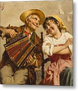The Serenade Metal Print