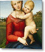 The Small Cowper Madonna Metal Print
