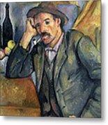 The Smoker Metal Print by Paul Cezanne