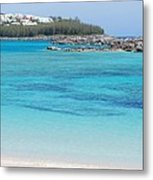A Vision Of Turtle Bay, Bermuda Metal Print