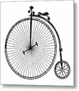 Vintage Bicycle Metal Print