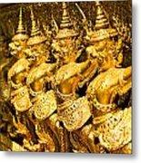 Wat Phra Kaeo Temple - Bangkok - Thailand.  Metal Print