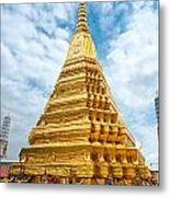 Wat Phra Kaeo Temple - Bangkok Metal Print