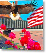 We Are All American's    Americans For All Metal Print