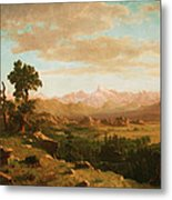 Wind River Country Metal Print