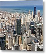 0001 Chicago Skyline Metal Print