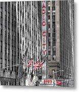 0007 Radio City Music Hall Metal Print